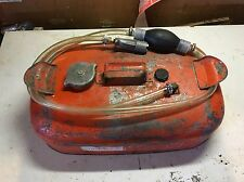 Johnson Small Gas Fuel tank Outboard Boat Johnson OMC Can Vintage NEW HOSE/bulb