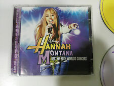 HANNAH MONTANA BEST OF BOTH WORLDS CONCERT CD + DVD DISNEY CHANNEL EU EDITION