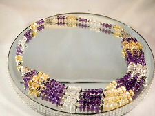 Amethyst  Citrine & Clear Quartz necklace. 488.5 Carat + Free Earrings