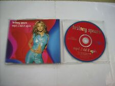 BRITNEY SPEARS - OOPS! I DID IT AGAIN - CD SINGLE EXCELLENT CONDITION 2000