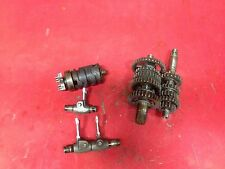 1981 Yamaha YZ60 Engine Transmission Gears   YZ 60   Shift Drum Forks