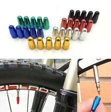 4PC Bicycle Stem Tyre Bike Fixie MTB Presta Wheel Rims Valve Caps Dust Cover Air