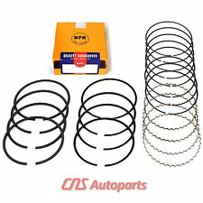 "NPR Piston Ring Kit 90-05 Fits Mazda Mercury Ford Kia 1.8L DOHC ""BP"""