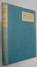 THE PLAYS OF J M BARRIE.A KISS FOR CINDERELLA,1ST/1 H/B 1920.COMEDY