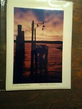WASHINGTON STATE FERRIES GREETING CARD CLINTON FERRY DOCK PUGET SOUND FERRIES