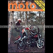 LE MONDE DE LA MOTO N°76 YAMAHA YZ 125 E RDX HONDA CM 400 T MORINI 500 SPORT '81