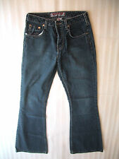 Womens Silver Jeans Dark Wash Bootcut or Flare Size 27 27x31 Made in Canada