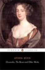 Oroonoko, the Rover and Other Works by Aphra Behn (1993, Paperback)