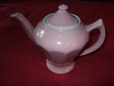 "VINTAGE HALL CHINA PINK 6 CUP TEAPOT - 8"" HIGH - EXCELLENT CONDITION!"