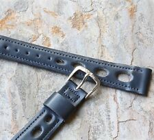 Wyler vintage watch band 16mm rally strap 1960s/70s New Old Stock Wyler band
