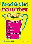 Food & Diet Counter: Complete Nutritional Facts for Every Diet!-ExLibrary