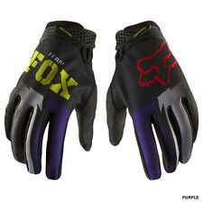 FOX womens ladies motocross ATV gloves Dirtpaw sz 8 SMALL pur/blk