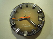 "MOVIMENTO PER OROLOGIO DA POLSO "" BOSTOL AUTOMATIC "" 25 JEWELS INCABLOC  (S-O-1)"