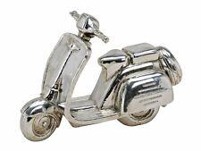 Motorroller, Silber glänzend, 22 x 9 x 15cm, Dekoartikel - sehr schön