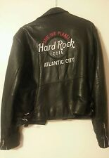HARD ROCK cafe Leather Jacket.