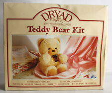 RARE VINTAGE 90'S DRYAD TEDDY BEAR KIT CRAFT MAKE YOUR OWN MADE IN ENGLAND NEW !