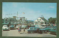 N H Wolfeboro M V Mount Washington Dockside Old Cars Photo Sieburg Postcard