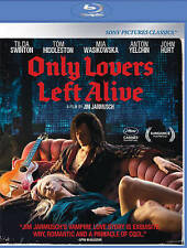 Only Lovers Left Alive New Blu-ray Jim Jarmusch Swinton Hiddleston Free Shipping