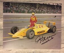 Rick Mears Signed Indy 500 Indianapolis 8 X 10 Photo Autographed