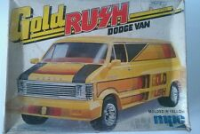 MPC GOLD RUSH DODGE VAN 1/25 Scale Model from 1979