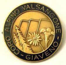 Spilla Coro Alpino Valsangone Giaveno