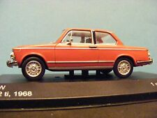BMW 2002 Ti in Red with Black interior a 1:43RD Scale Whitebox Collectors Model