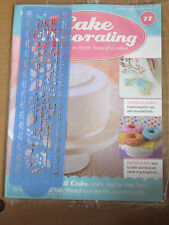 Deagostini Cake Decorating Magazine ISSUE 11 - WITH FLORAL SIDE STENCIL