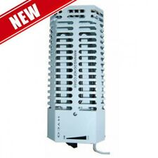 200w Frost Protection Convector Heater  cw Stat ,Greenhouse, Shed or Grow Tent.