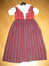 Süsses Kinder Trachtenkleid mit Bluse Gr. 128 Top