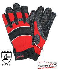 Handschuhe THL rot Gr. 9 / M Feuerwehr Rettungsdienst KatS Feuerwehrhandschuhe