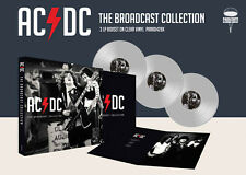 AC/DC New Sealed 2017 LIVE CONCERT 3 CLEAR VINYL RECORD BOXSET