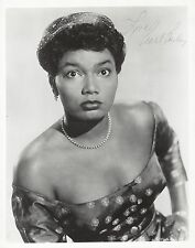 "Pearl Bailey (Signed) ""ST. LOUIS WOMAN"" Autographed 1946 Glossy 8"" X 10"" Photo"