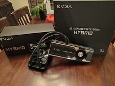 EVGA Nvidia GeForce GTX 980 Ti Hybrid Video Card 2x SLI Overclocked Water Cooled
