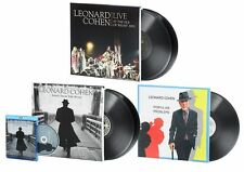LEONARD COHEN - 5 LP's - 3 ALBUM's - Blu-ray+Bonus Feature- CD - BOOK - GATEFOLD