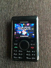 Samsung SGH P310 - Imperial black (Unlocked) GSM *SUPER RARE* *COLLECTIBLE*