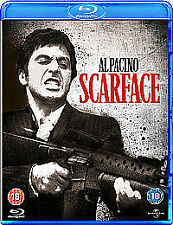 Scarface (Blu-Ray), Very Good Condition DVD, ,
