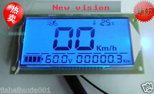Car Multifunction Voltmeter Thermometer Speedometer für Auto 48V 60V 72V 36~72V