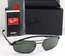 Ray Ban TECH RB 8309 002/9A Sunglasses Polarized Black Frame New 59mm Aviator