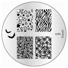 Konad Piastra immagine m94 DISCO STAMPING NAIL ART UK