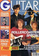 JESUS & MARY CHAIN / MY BLOODY VALENTINE / JOE WALSH Guitar Magazine   June 1992