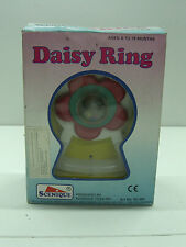 1988 VINTAGE BABY DAISY RING RATTLE TOY TEETHER MIB