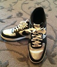 Nike Air Force 1 One M13 Low  metallic silver/black Excellent
