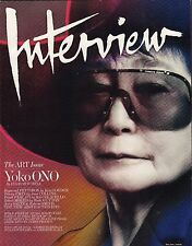 Interview December / January 2014 Yoko Ono VG 070616DBE3