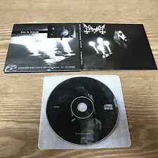 Mayhem ‎– Live In Leipzig [1CD, Digipack, Avantgarde Music ‎– AV004-96] 0Burzum0