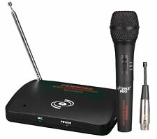 PYLEPRO PDWM100 Dual Function Wireless/Wired Microphone System, New