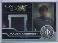 Major Anderson 2014 Cryptozoic Ender's Game Authentic Wardrobe Blue Suit #M06