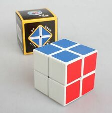 Rubik Cube White 2x2x2 Speed Puzzle ABS Magic Ultra-Smooth Professional Twist