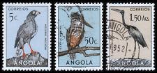 Angola Scott 333-334, 339 (1951) Used/Mint H VF
