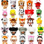 Cartoon Animal Hat Plush Beanie Winter Ear Warm Fluffy Hooded Cap Earmuff Unisex