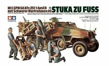 TAMIYA - 1:35 Plastic Model Kit - German Sdkfz 'Stuka zu Fuss' - CA251 - #35151